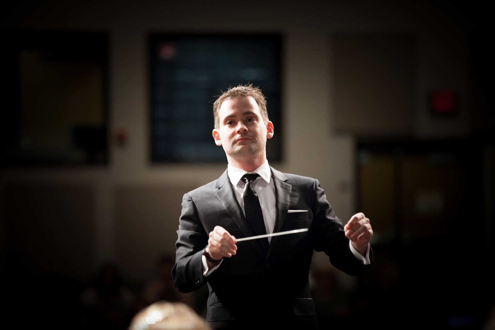 Conductor Chris Ramaekers
